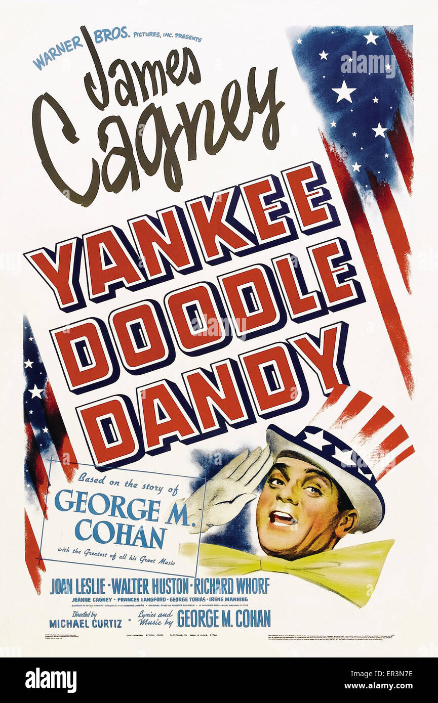 Yankee Doodle Dandy - Movie Poster - Stock Image