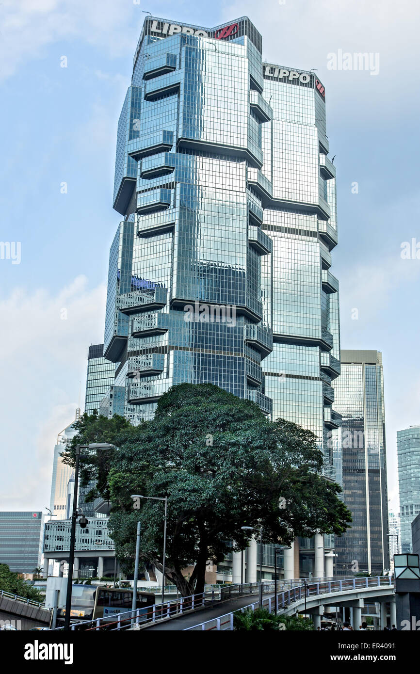 Lippo Centre skyscraper (previously known as the Bond Centre ) - Stock Image