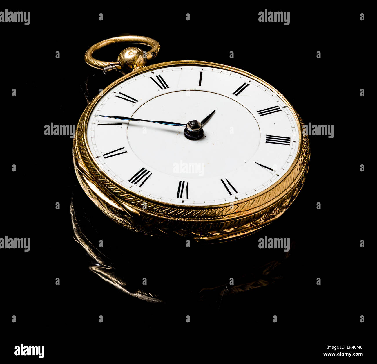 A pocket watch - Stock Image