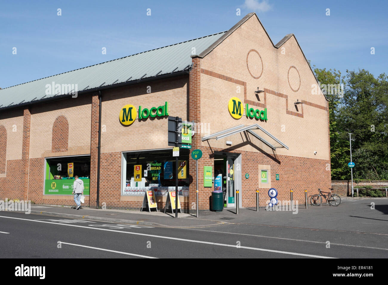 Morrisons local store on Abbeydale road Sheffield - Stock Image