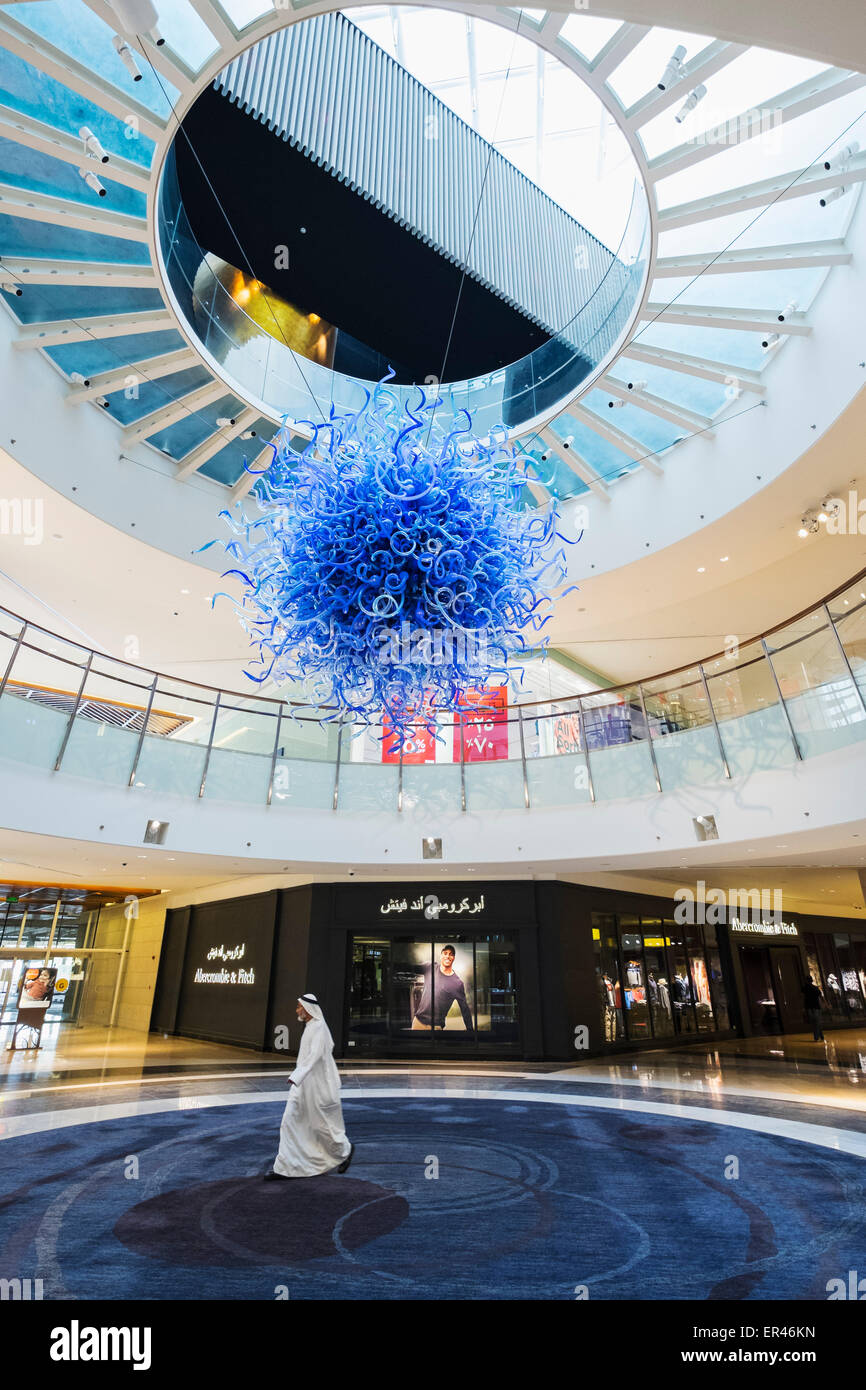 Interior of 360 shopping Mall in Kuwait City, Kuwait. - Stock Image