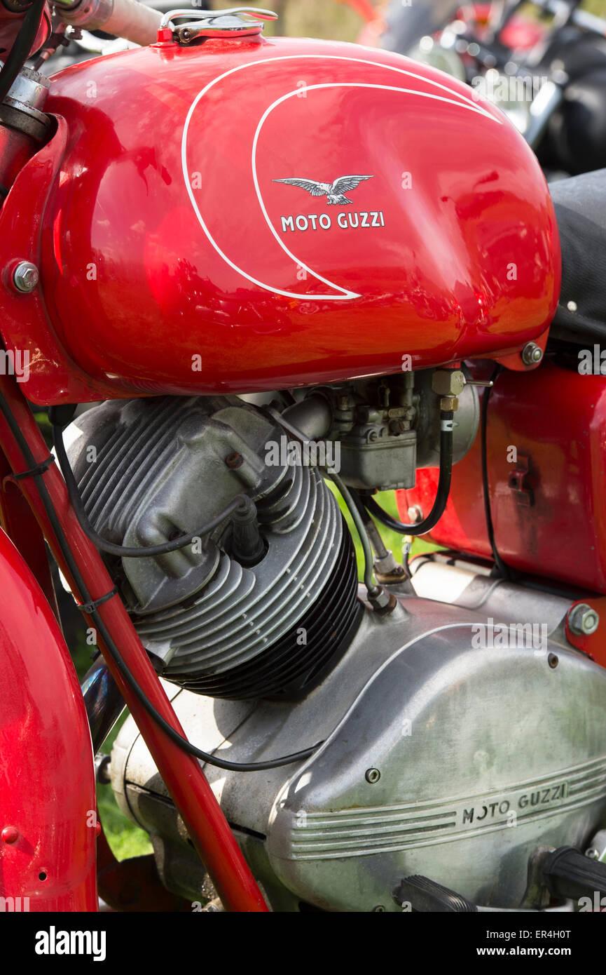 1950s Moto Guzzi Lodola Gran Turismo motorcycle - Stock Image