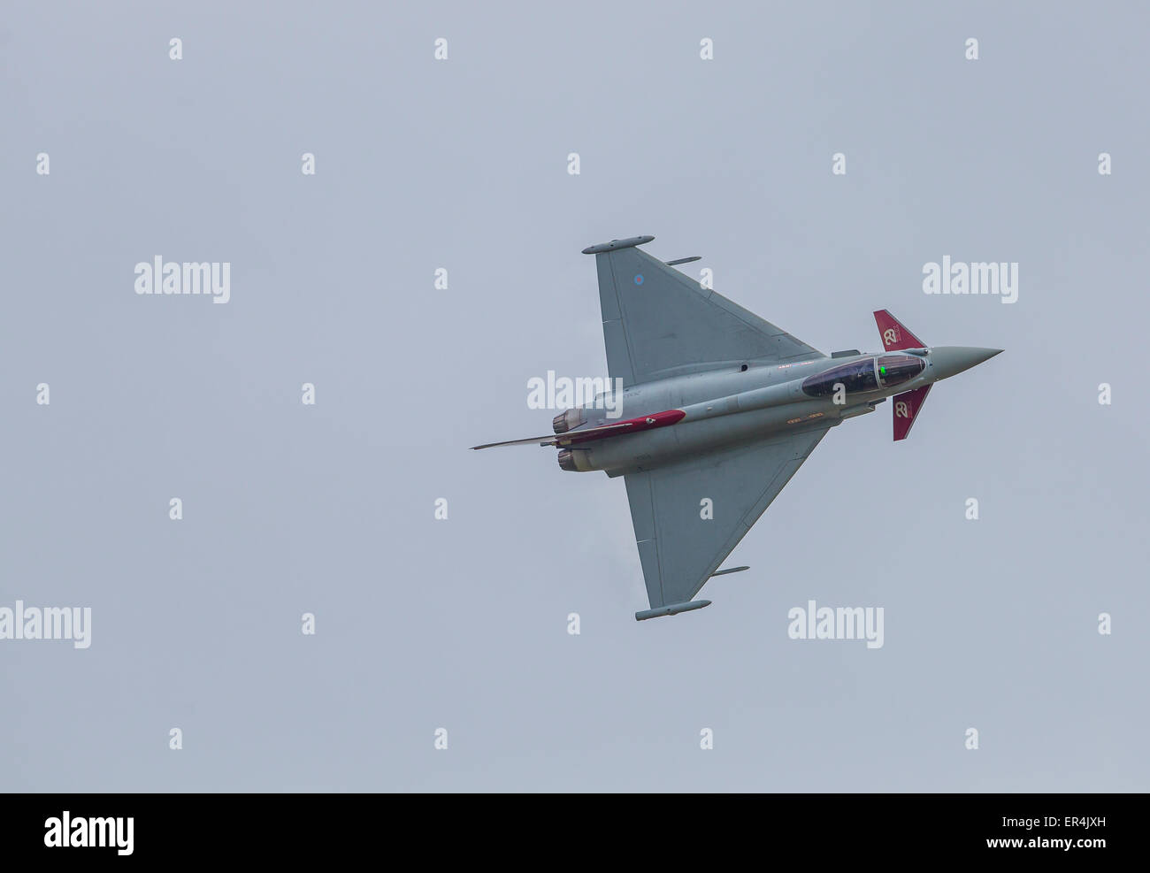 Eurofighter Typhoon FGR4, 29(R) Squadron, RAF Coningsby. - Stock Image
