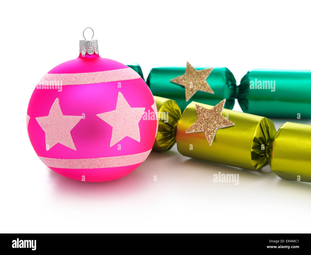 Christmas Cracker - Stock Image