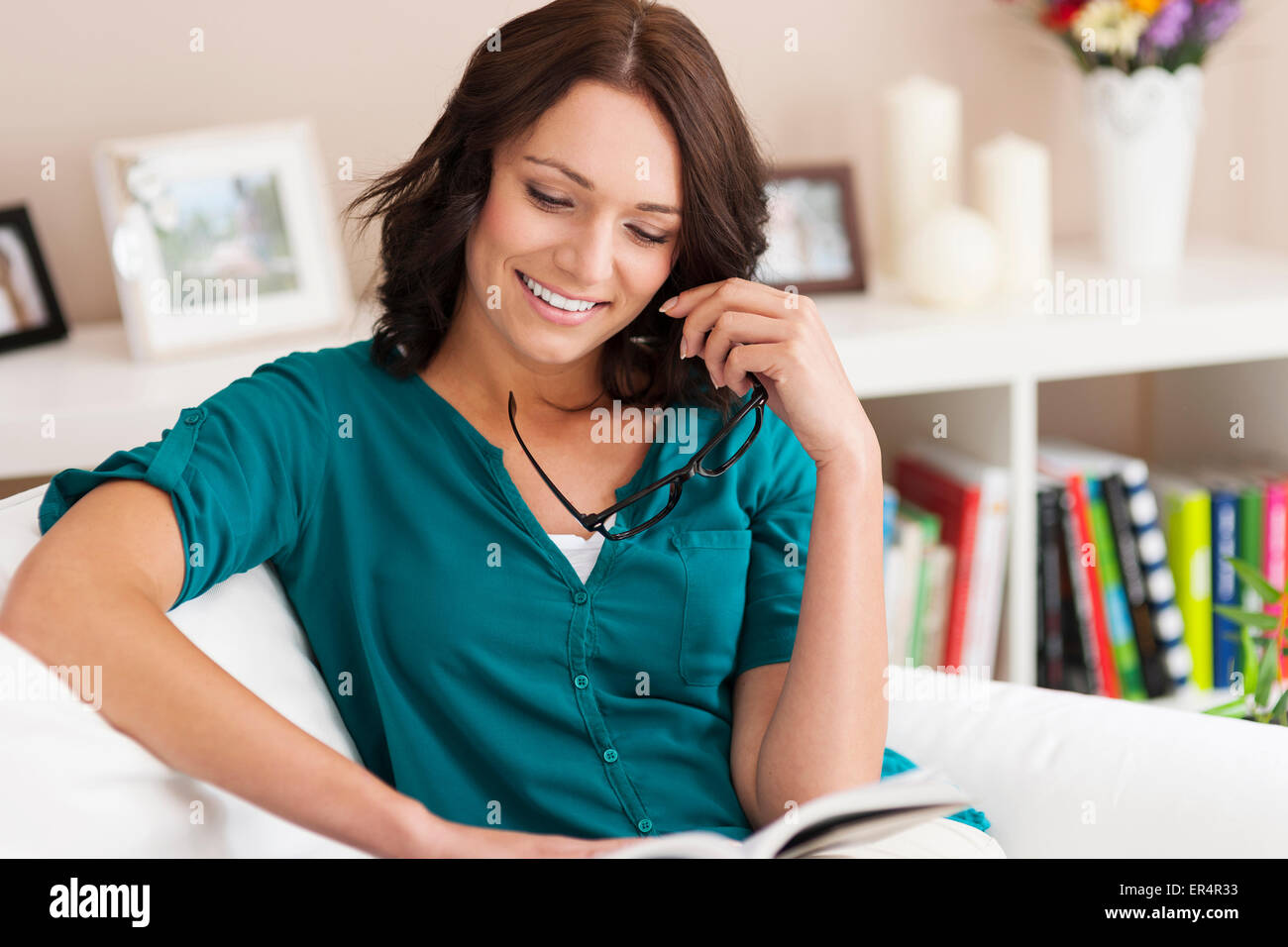 This book is amazing, really! Debica, Poland - Stock Image