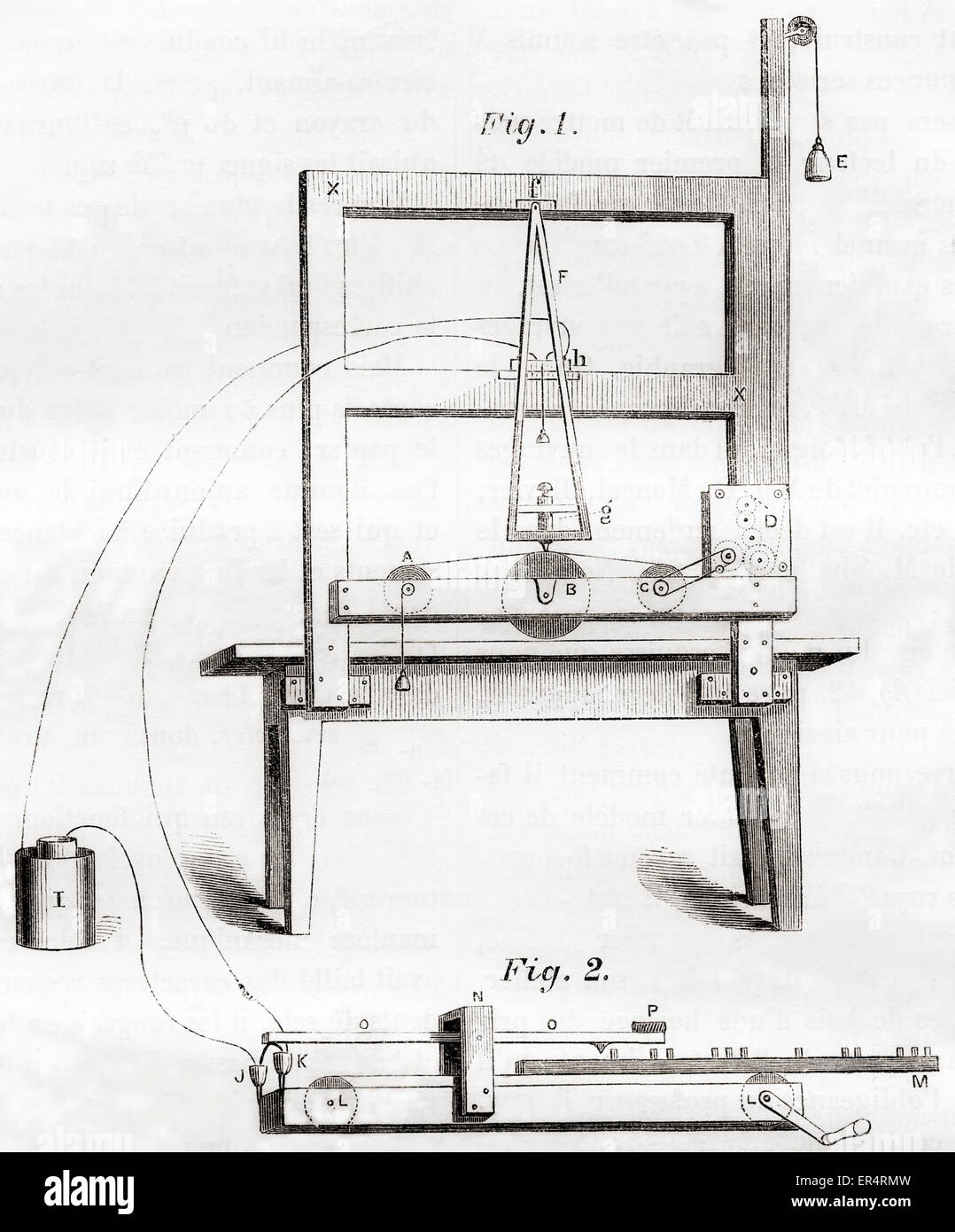 The first electrical telegraph invented by Samuel Morse in 1837 ...