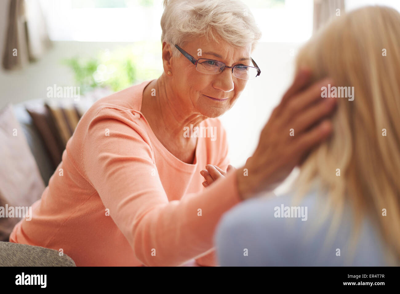 Do you remember honey? I can always help you. Debica, Poland - Stock Image