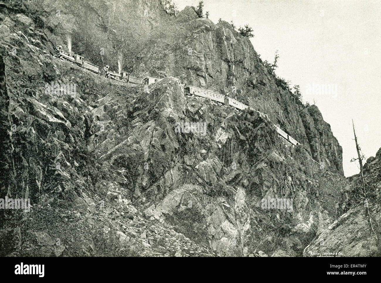The Animas River is part of the Colorado River System. A Spanish explorer named Juan Maria de Rivera of Santa Fe - Stock Image