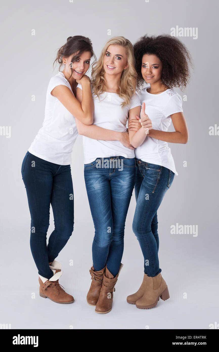 Everyone is beautiful regardless of origin. Debica, Poland - Stock Image