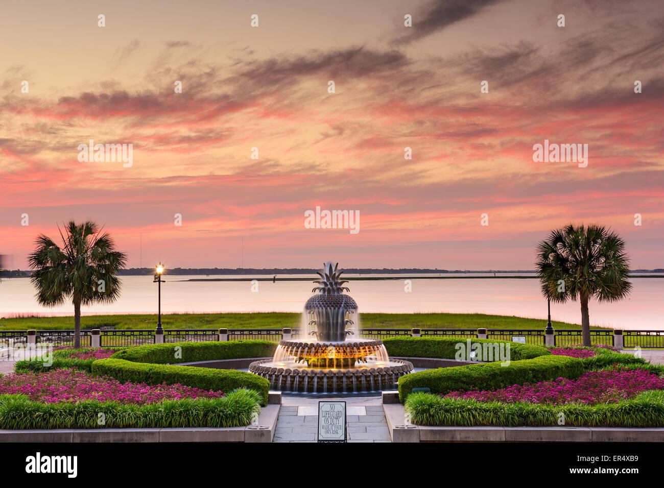 Charleston, South Carolina, USA at Waterfront Park. Stock Photo