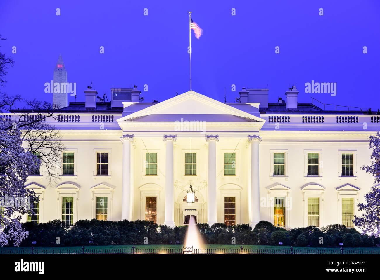 Washington, DC at the White House. - Stock Image