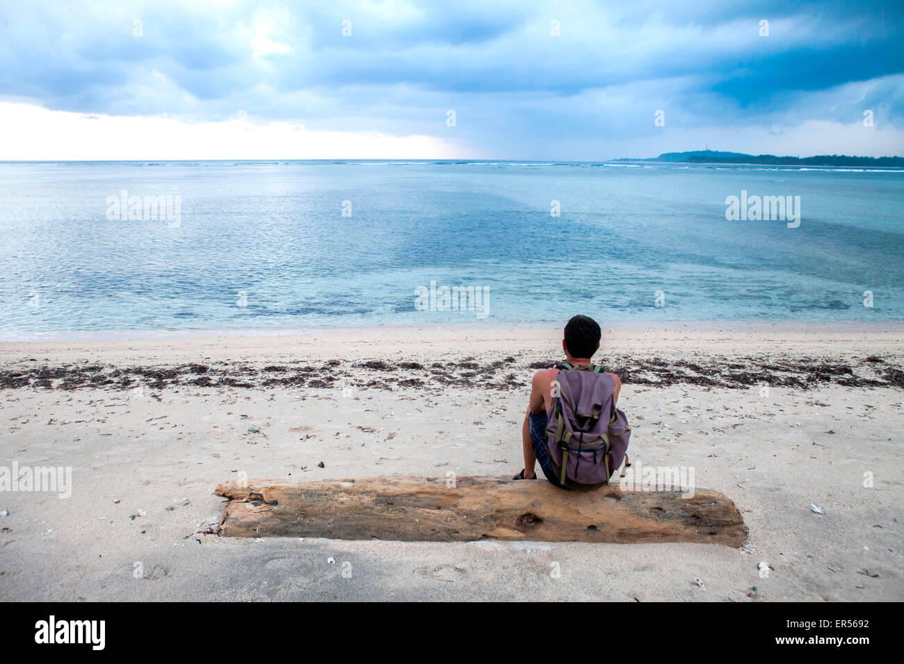 Gili Air, Indonesia. - Stock Image