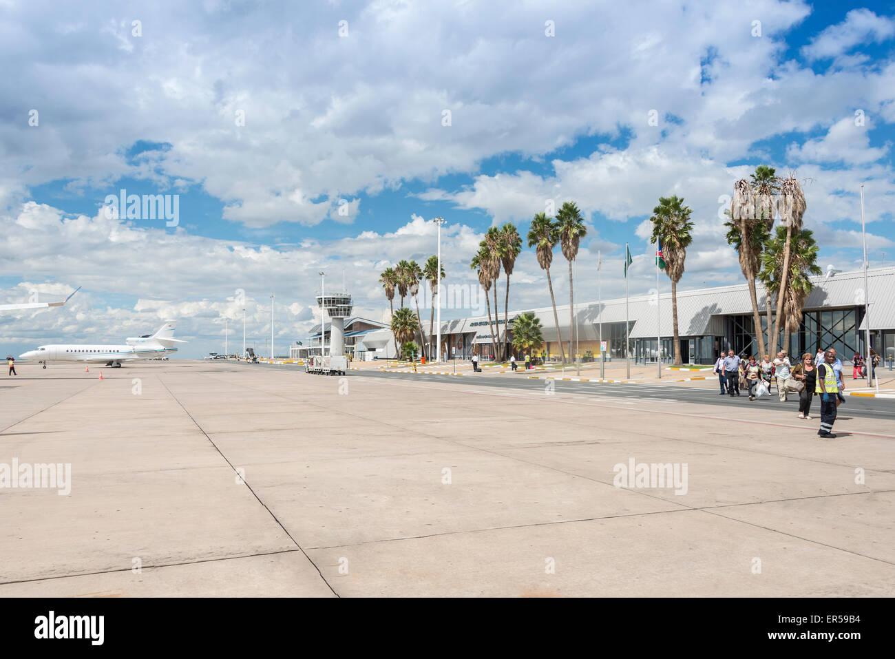 Hosea Kutako International Airport, Windhoek (Windhuk), Khomas Region, Republic of Namibia - Stock Image