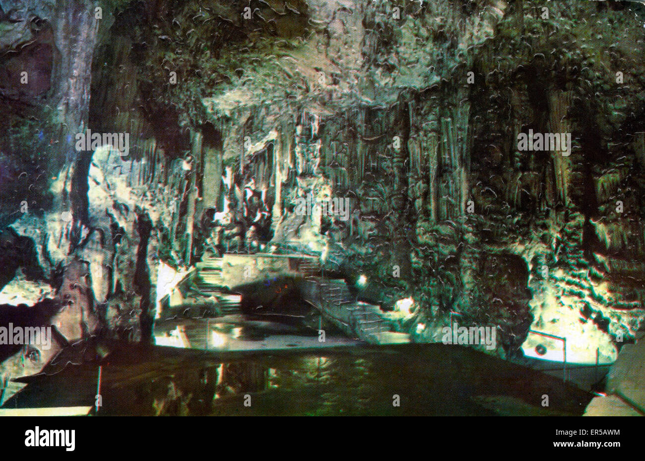 Caves, Awaiting Identification, . - Stock Image