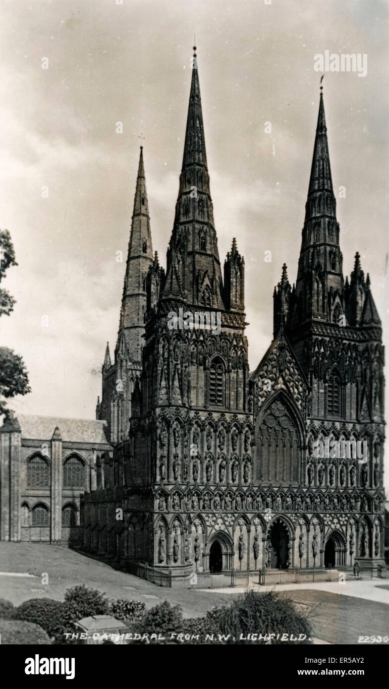 The Cathedral, Litchfield, near Newbury/Reading, Hampshire, England.  1920s - Stock Image