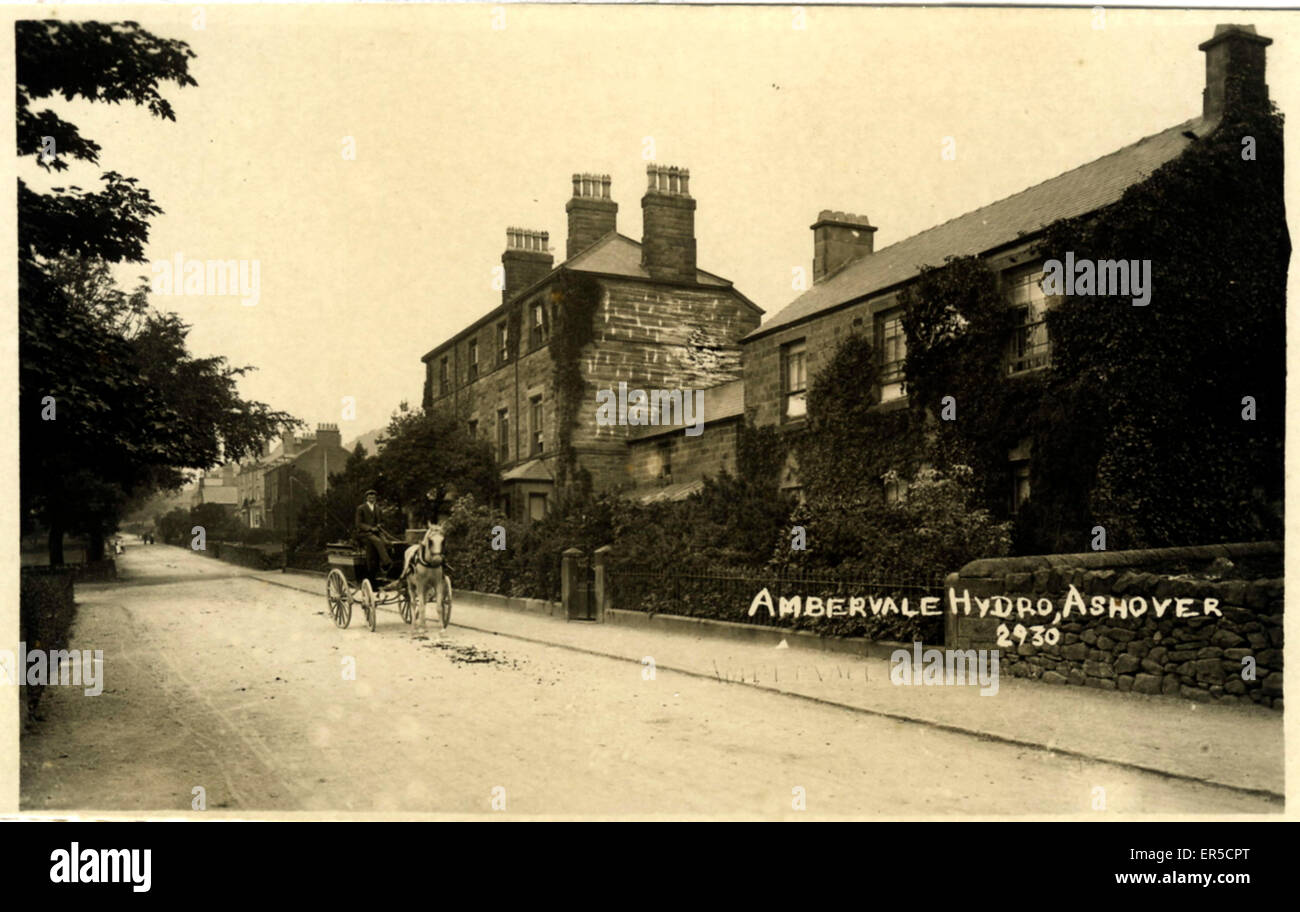 Ambervale Hydro, Ashover, Chesterfield, near Matlock, Derbyshire, England.  1900s - Stock Image