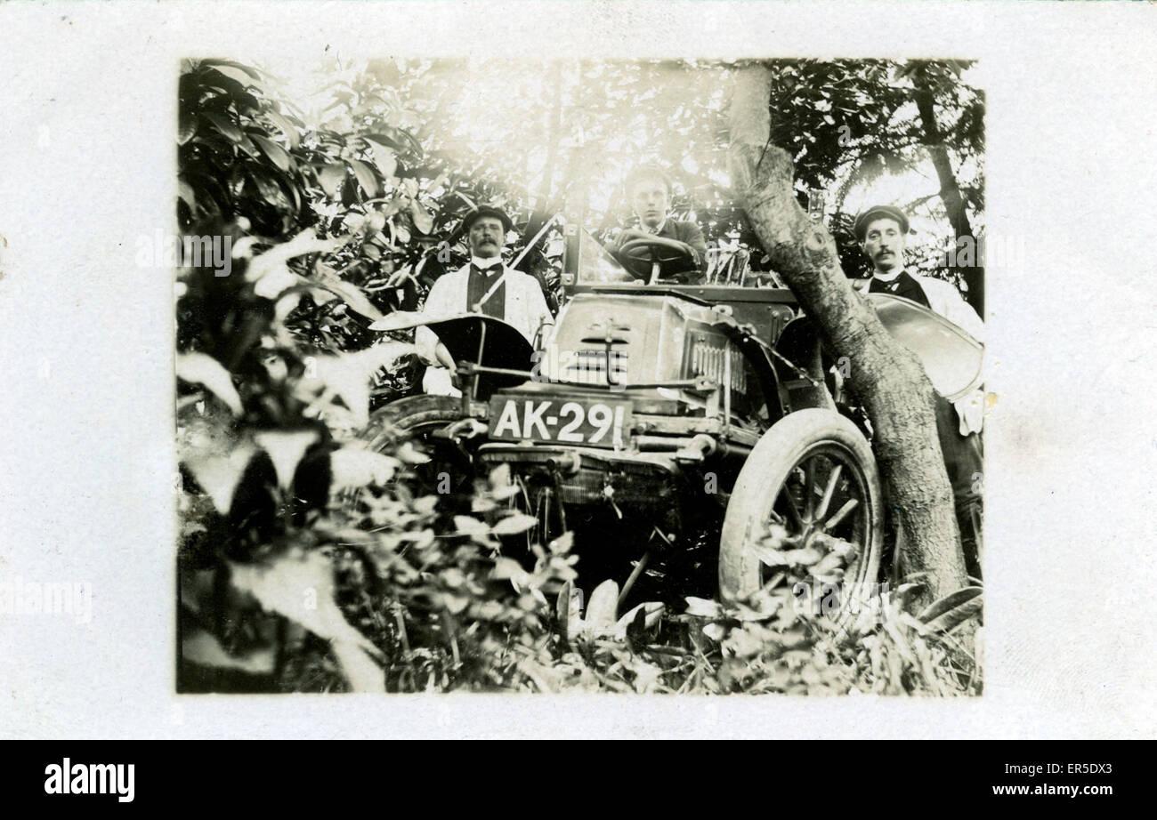 1903/4 De Dion Bouton Vintage Car, England.  1900s - Stock Image