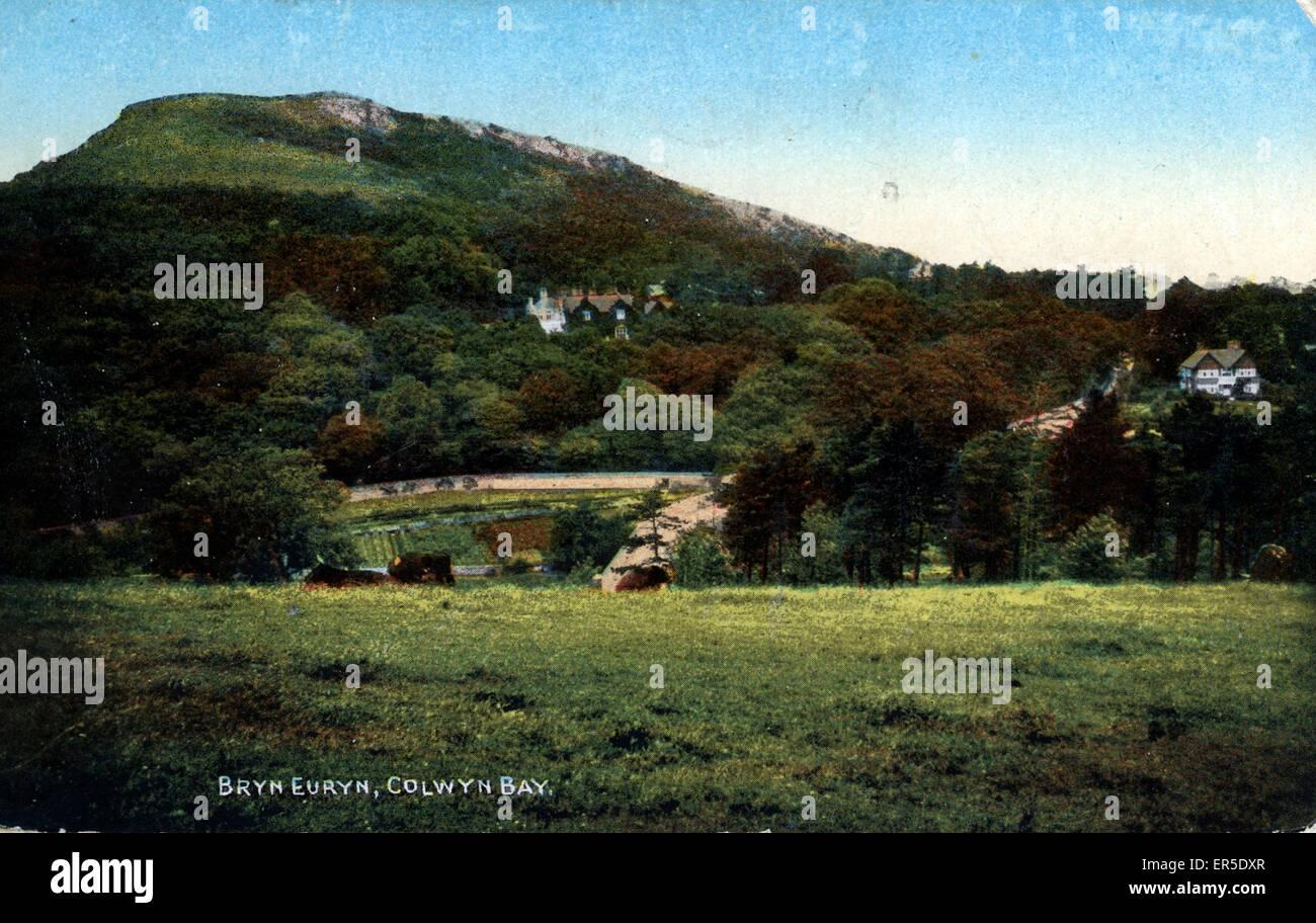 Bryn Euryn, Colwyn Bay, near Rhos on Sea, Conwy/Clwyd, Wales.  1910s - Stock Image