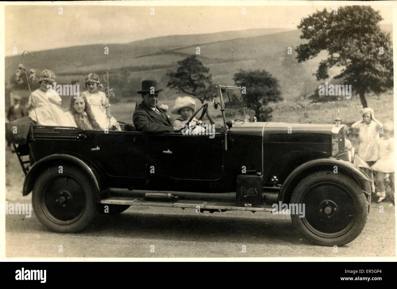 Lea Francis Vintage Car, England.  1910s - Stock Image