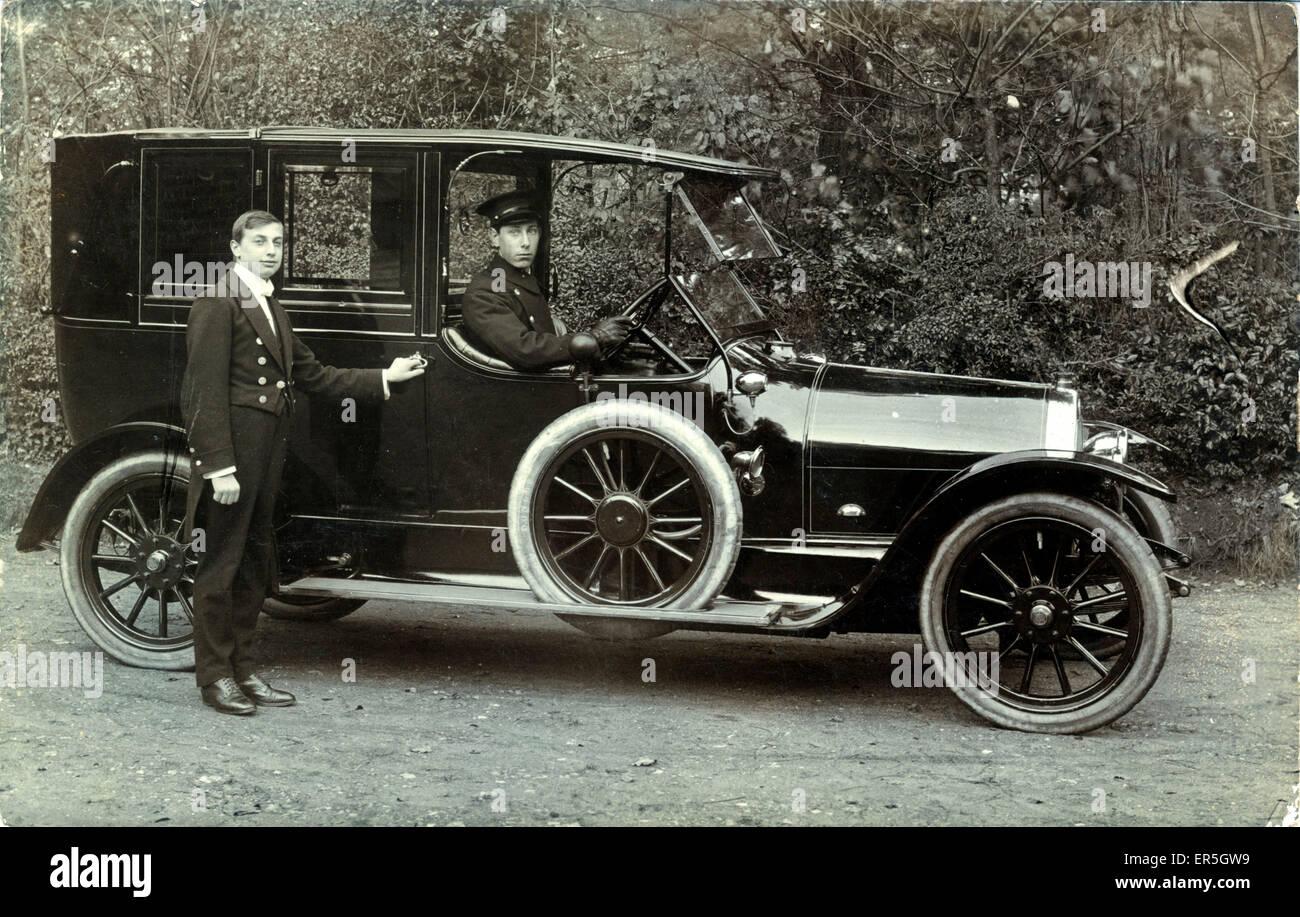 Lancia Vintage Car, England.  1910s - Stock Image