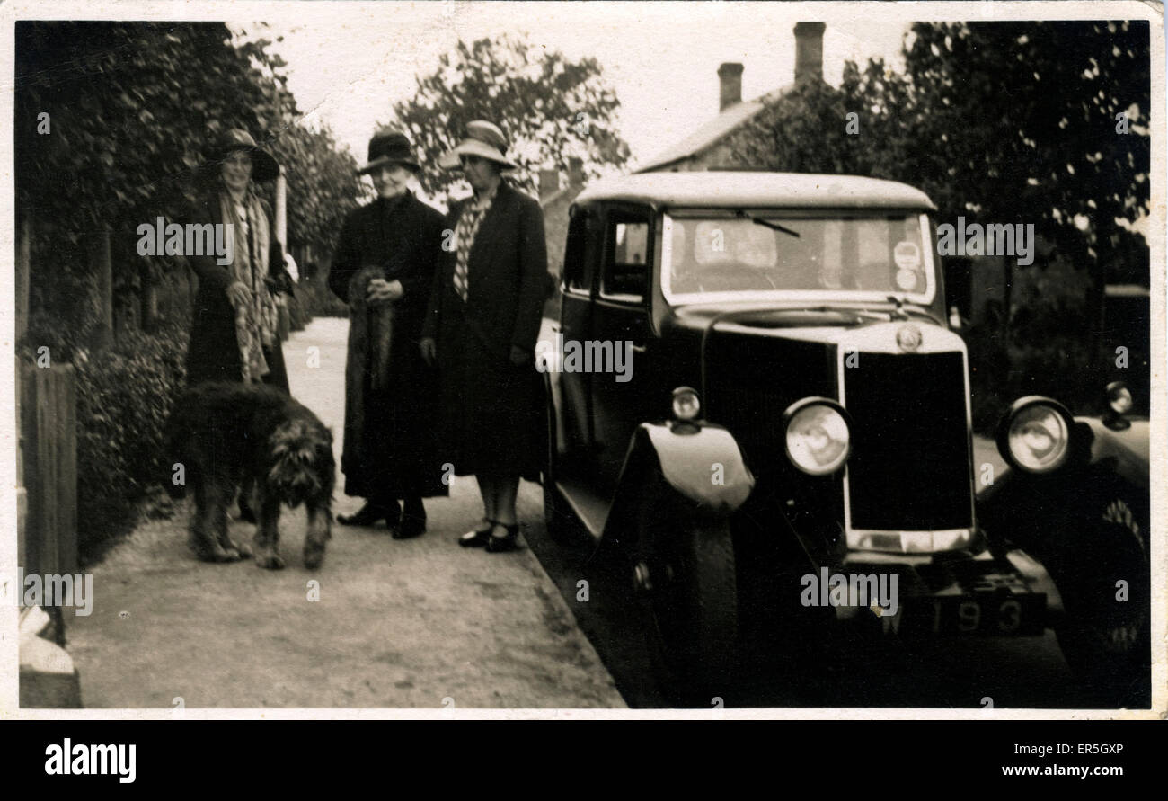 Lea Francis Vintage Car, England.  1920s - Stock Image