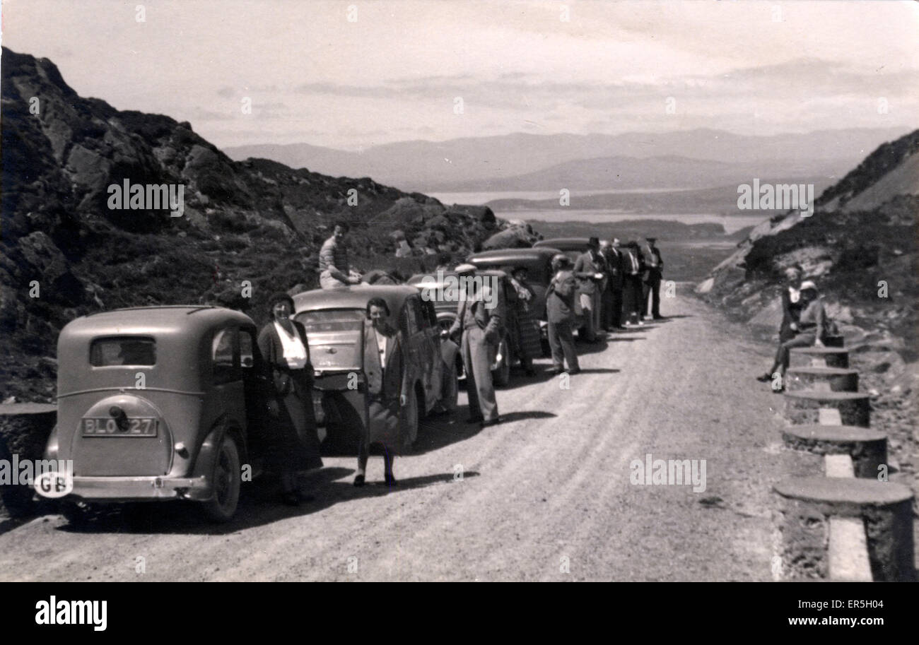 Vintage Cars of the 1930s, Switzerland.  1930s - Stock Image