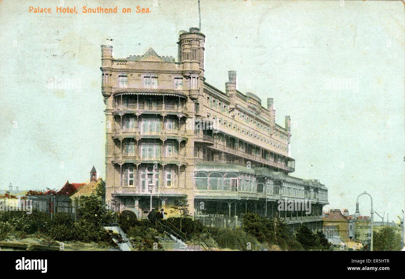 The Palace Hotel, Southend-on-Sea, Essex, England.  1908 Stock Photo