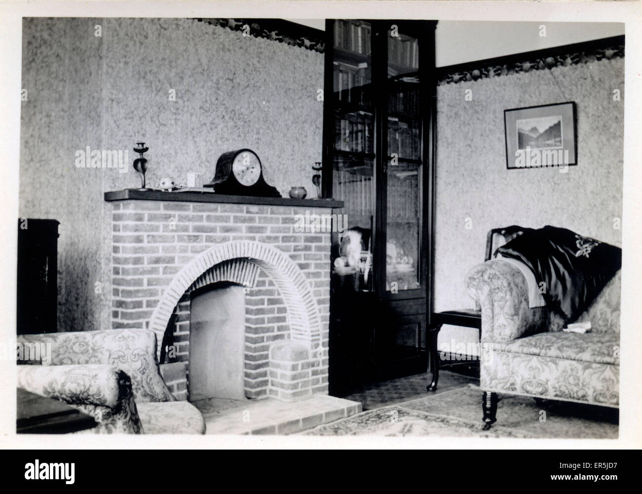 Interior Semi Detached House Coulsdon Croydon Near Purley Stock Photo Alamy