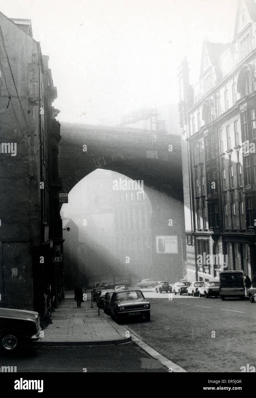 Dean Street, Newcastle-Upon-Tyne, Northumberland, England.  1960s - Stock Image