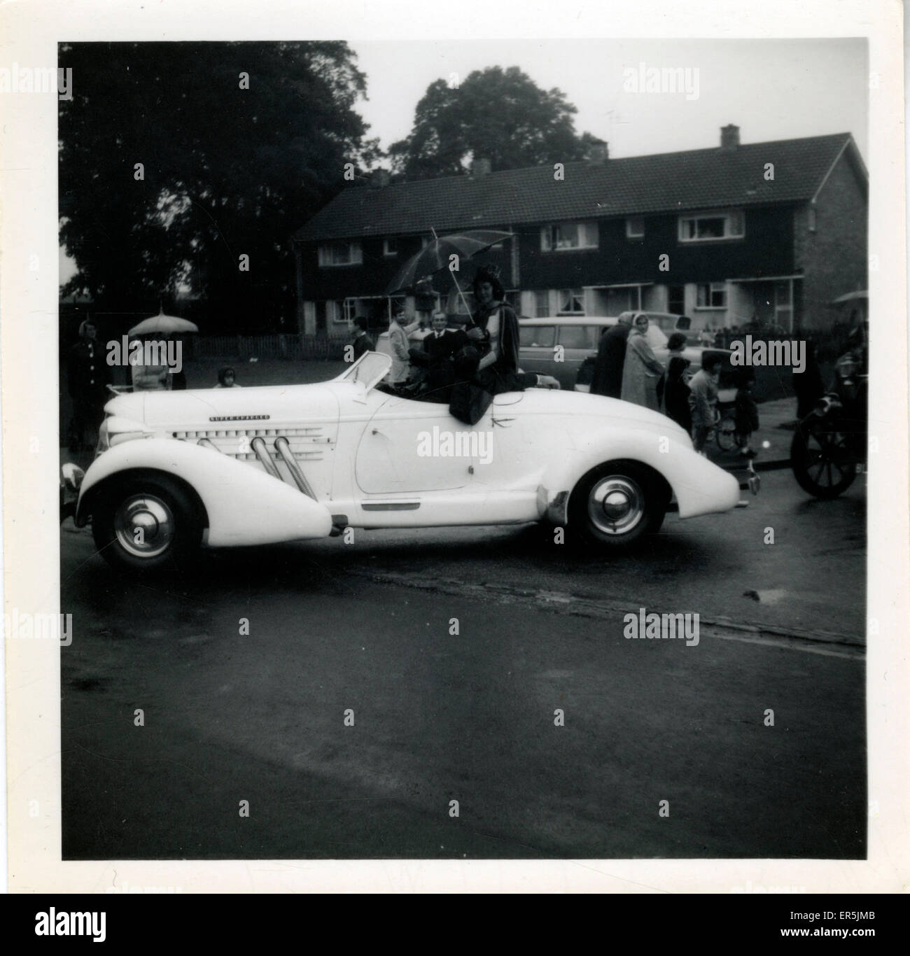 1930s Auburn Speedster Vintage Car, .  1960s - Stock Image