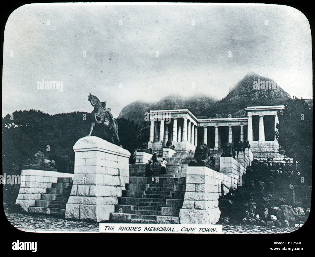 The Rhodes Memorial, Cape Town, Western Cape, South Africa.  1927 - Stock Image