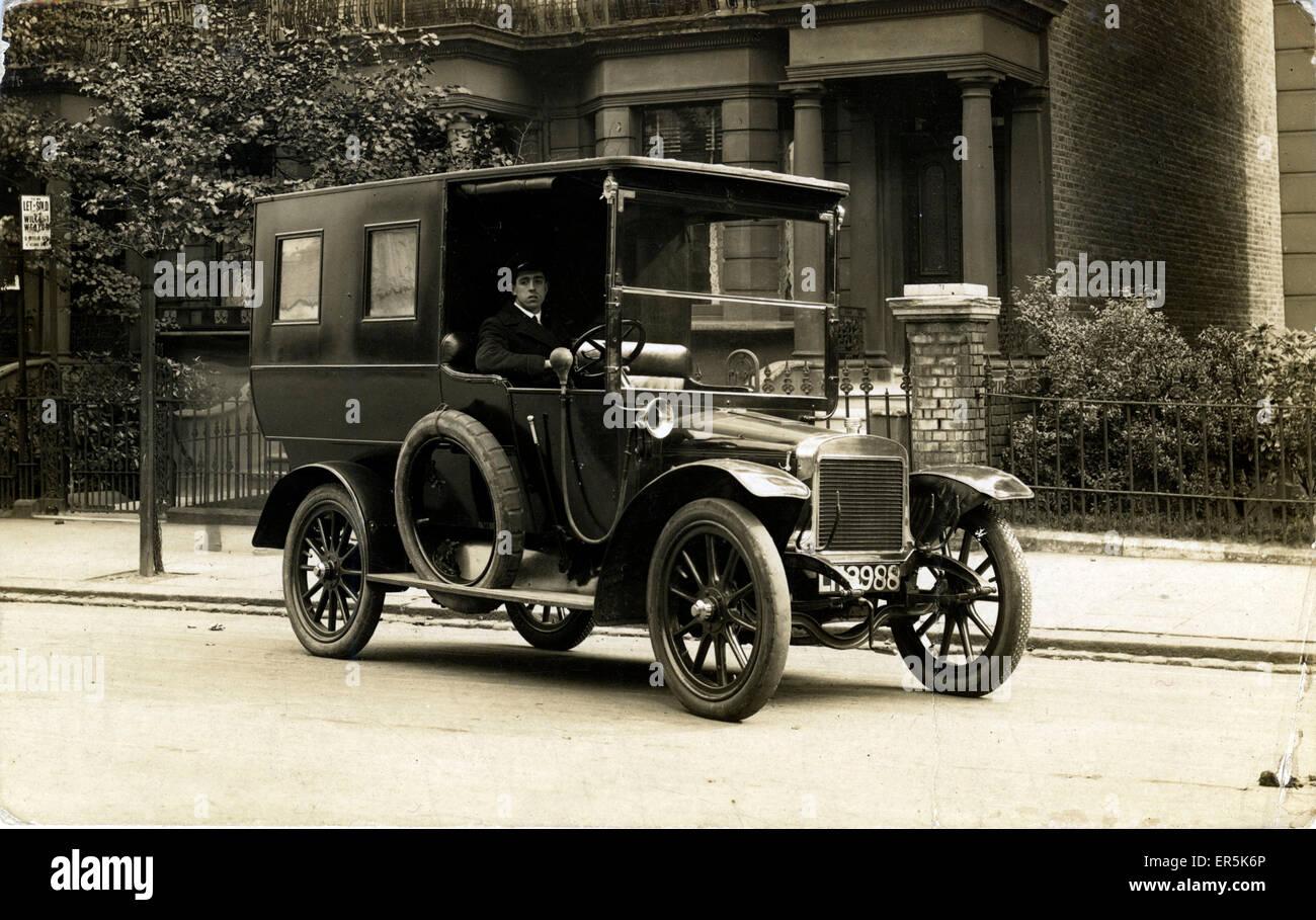 Adler Vintage Car/Landaulet, Britain. London North West registration ...