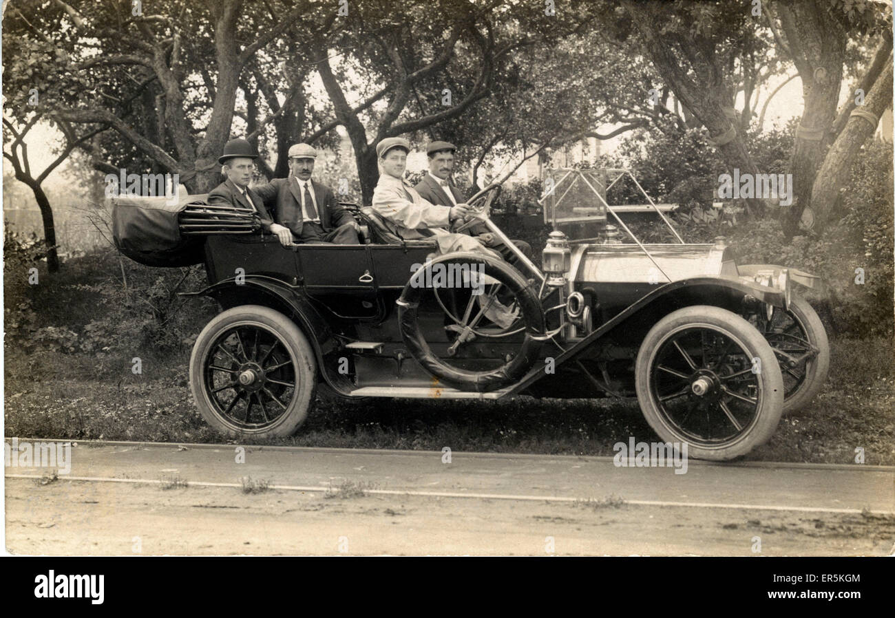 C1910 Marion Model 10 Flyer Vintage Car, USA.  1910s - Stock Image