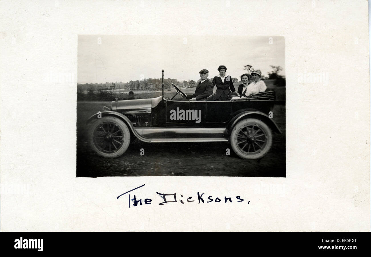 C1919 REO The Fifth 30-35 Touring Vintage Car, USA.  1920s - Stock Image