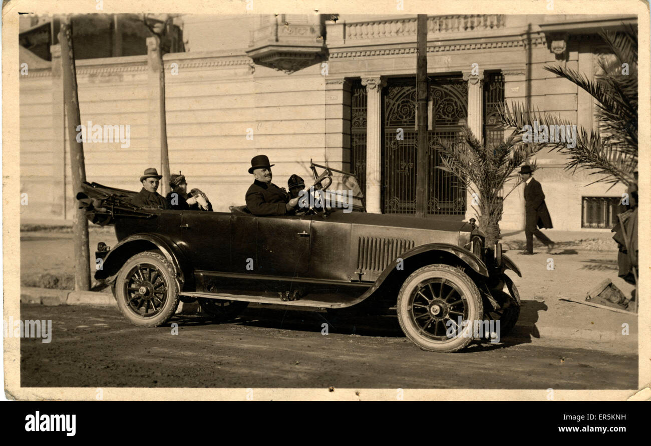 Vintage Car (awaiting identification), Spain.  1920s - Stock Image