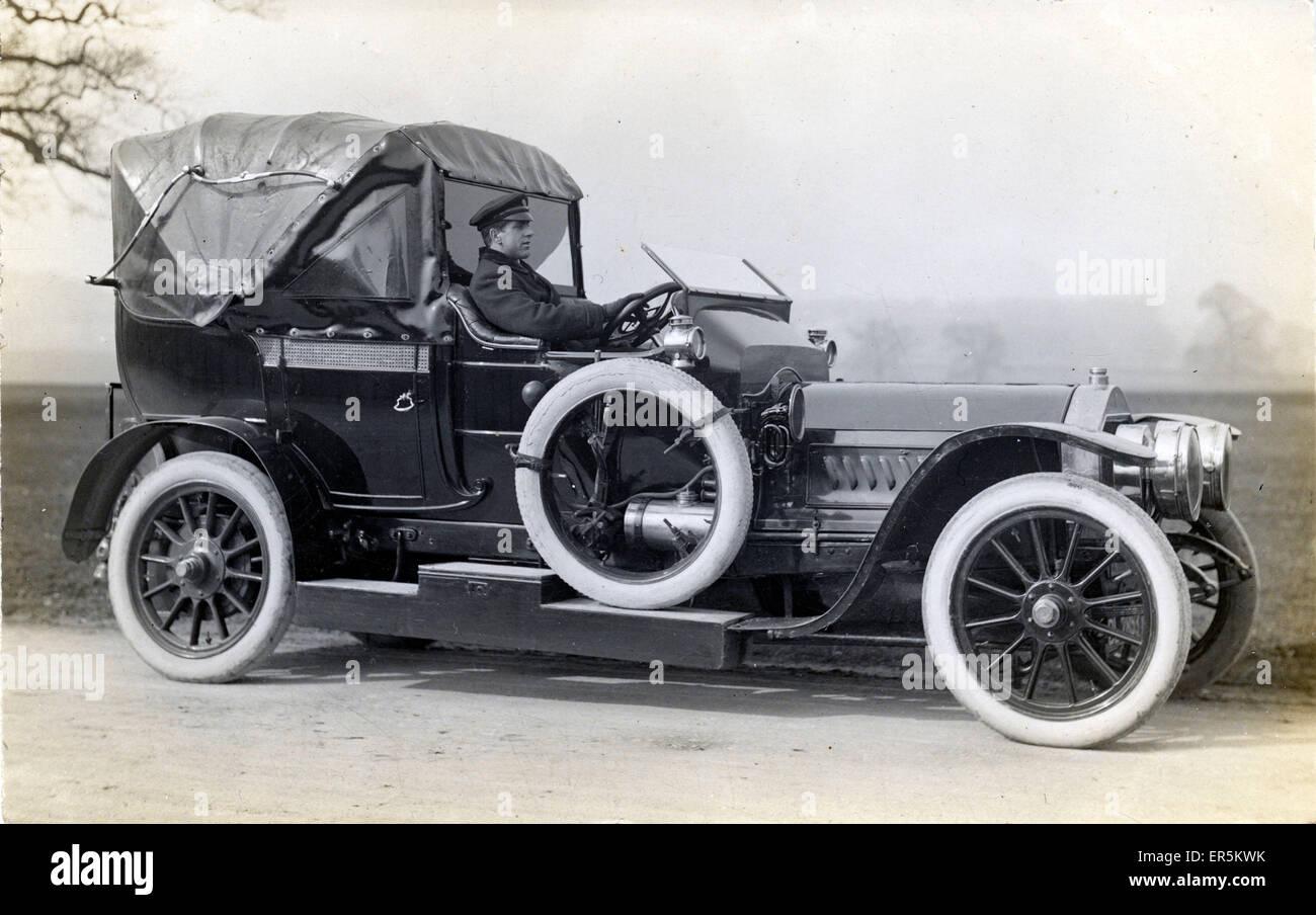 UNIC Vintage Car, England.  1910s - Stock Image
