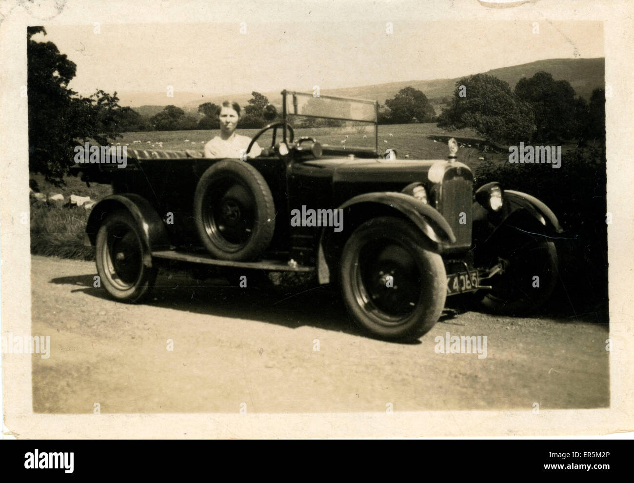 Rover Eight Two-seater Vintage Car, Britain.  1920s - Stock Image