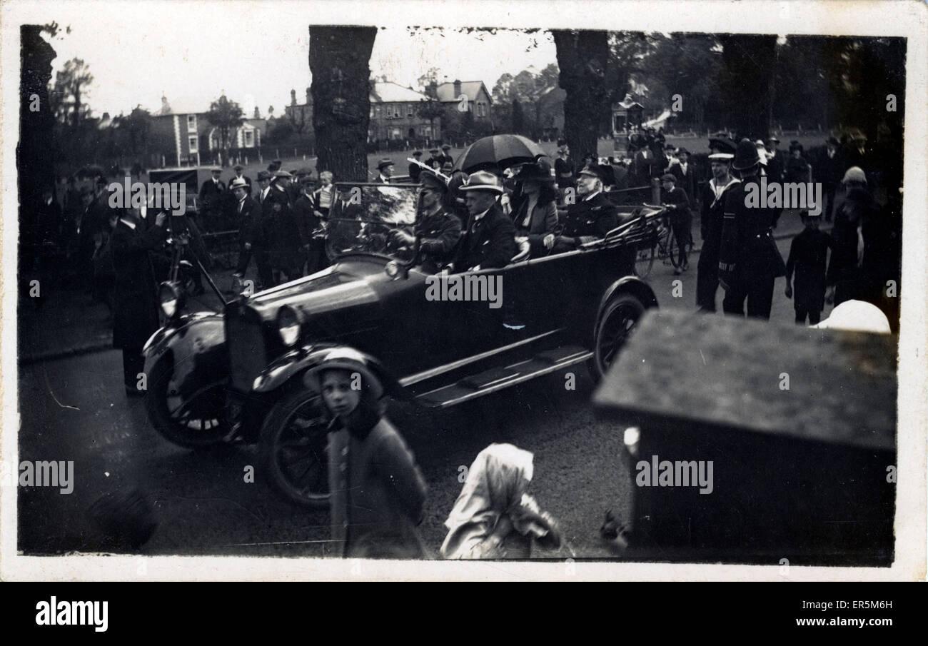 Vintage Car (awaiting identification), Britain.  1920s - Stock Image
