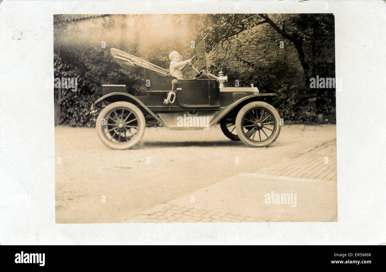 Two-Seater Vintage Car (awaiting identification), Britain.  1920s - Stock Image