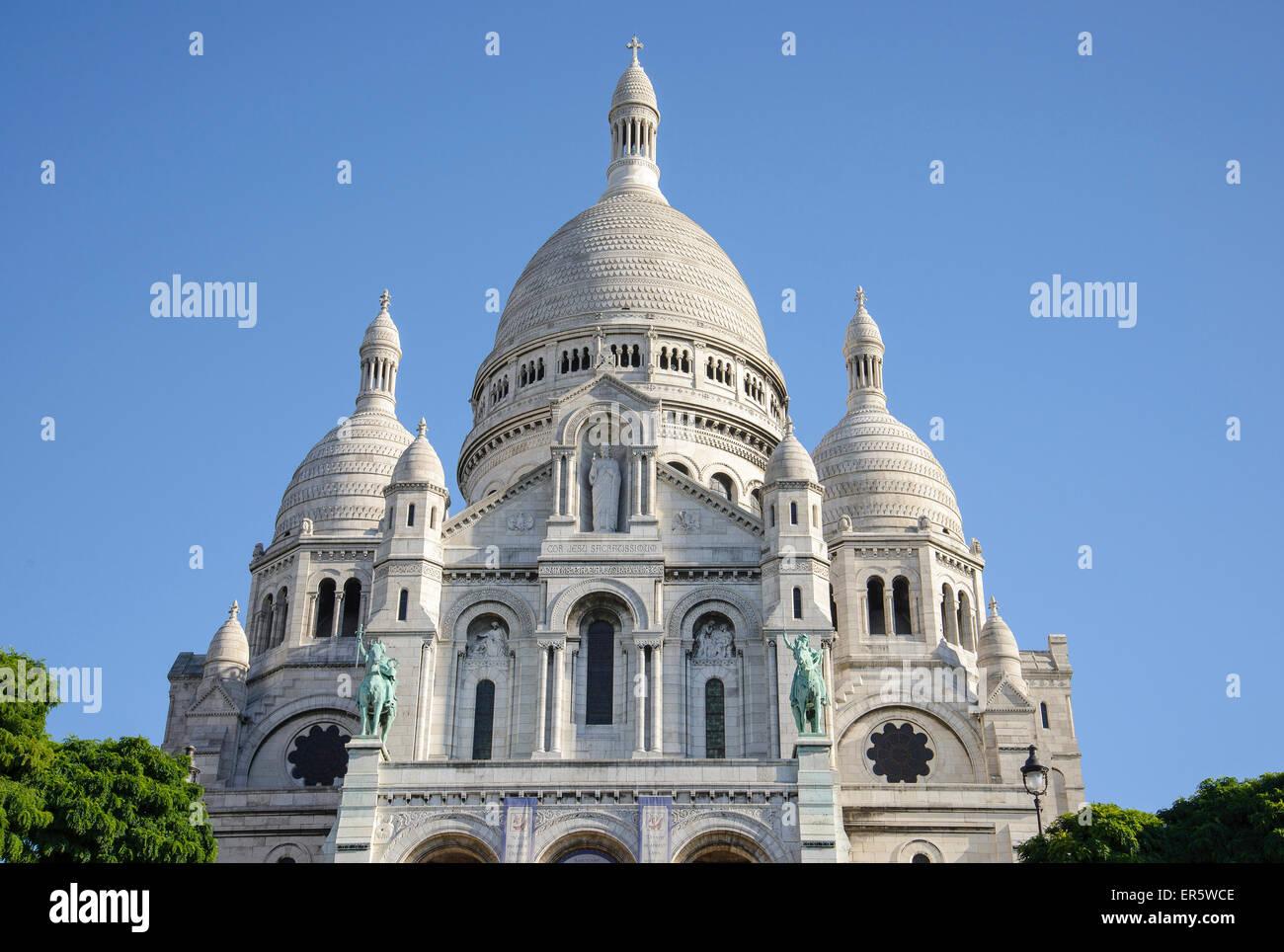 Basilica of the Sacré Cœur at Montmartre,