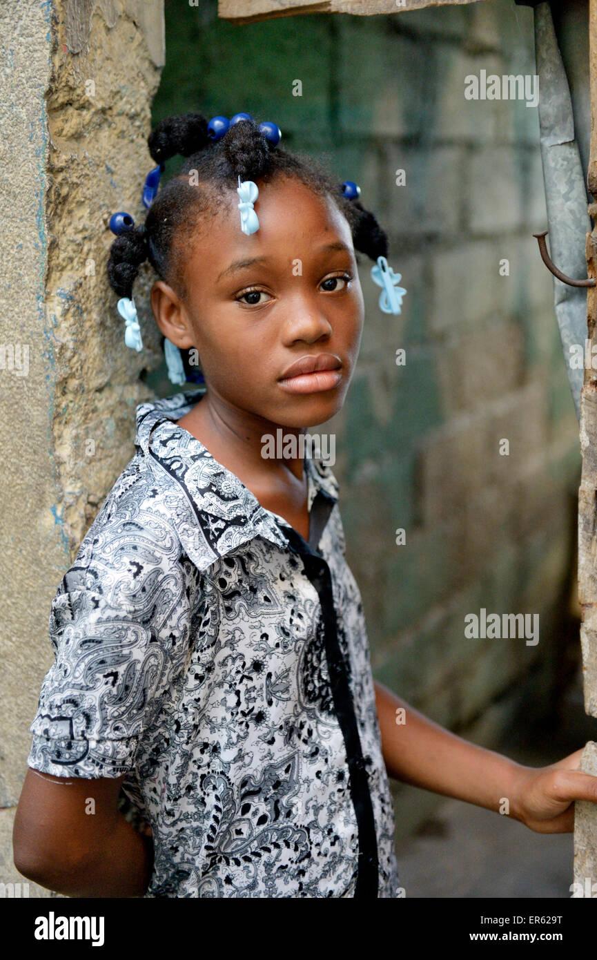 Haitian girls young Young Haitian
