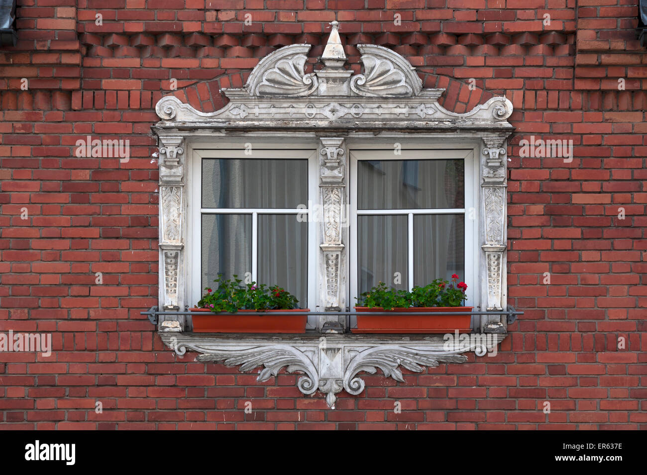 Window framing from the 19th century, Renaissance Revival Stock ...