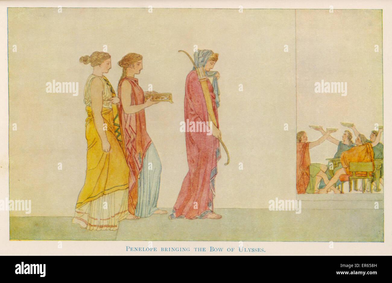 odysseus wife