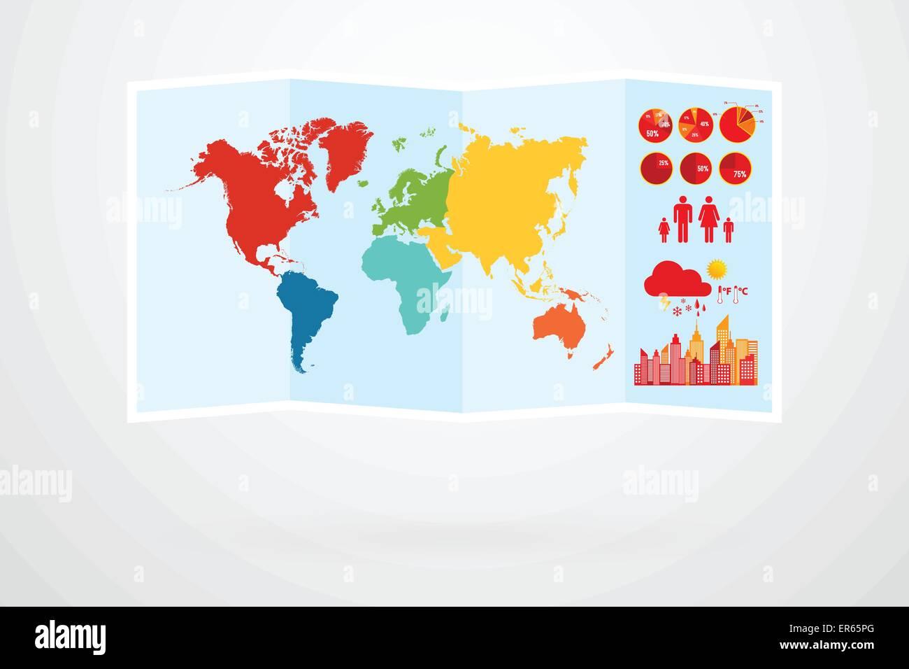 Map pin australia stock photos map pin australia stock images world map vector infographic stock image gumiabroncs Images