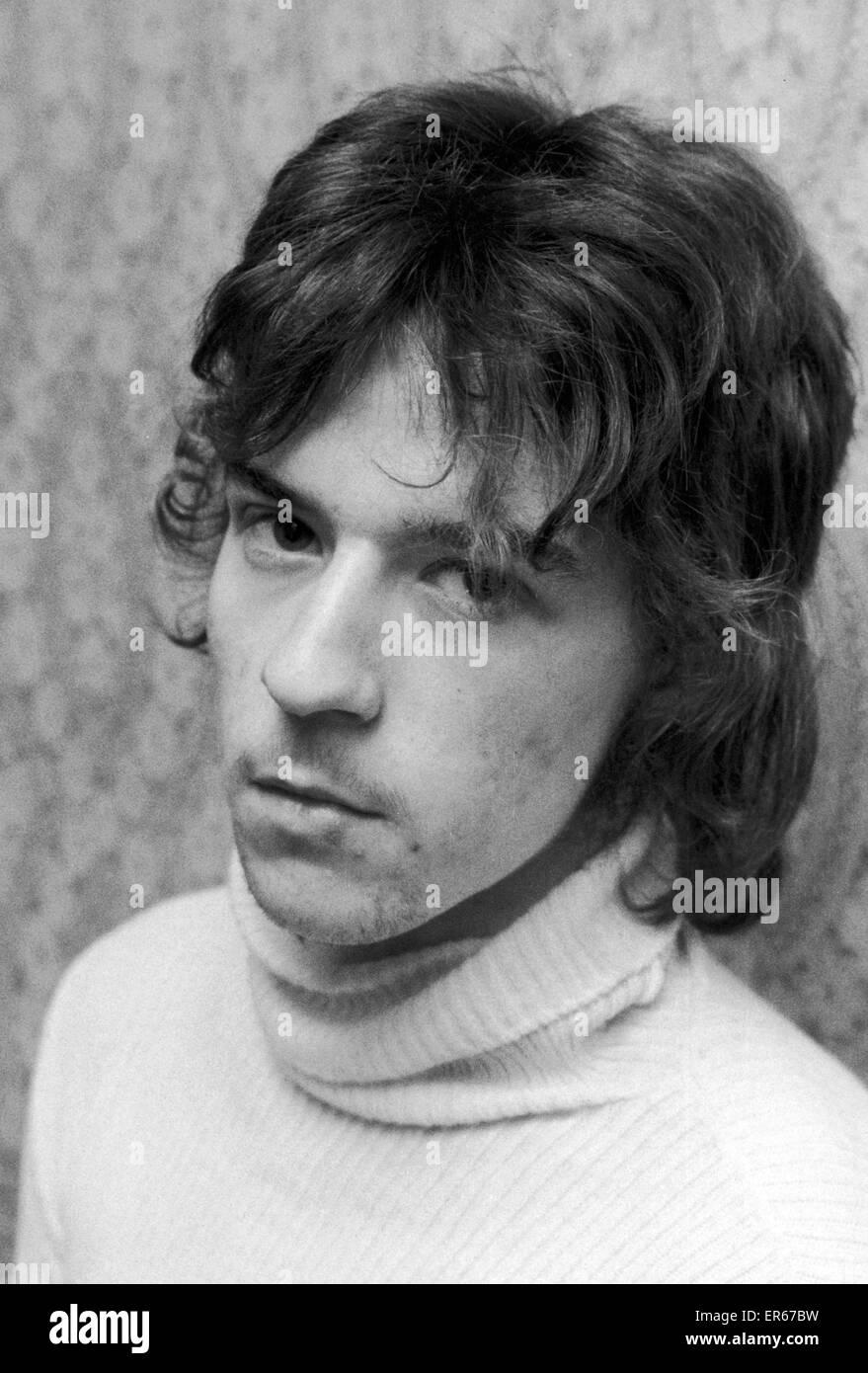 David Green, boyfriend of murdered girl, Sharon Mosoph, pictured 6th March 1976.  Trevor Joseph Hardy, Serial killer, - Stock Image