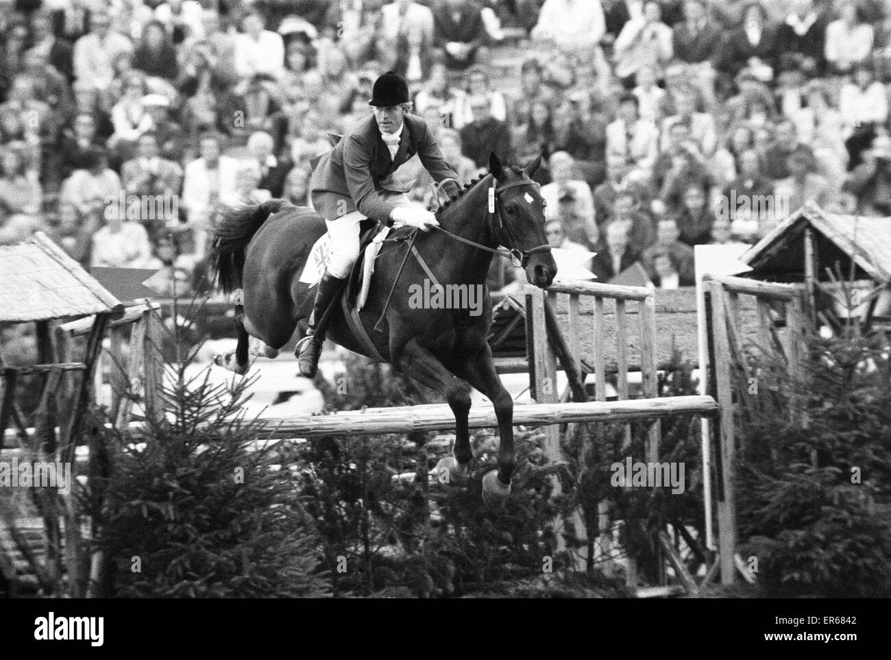Equestrian Eventing at the Munch Olympic Games, Friday 1st September  1972. Richard Meade, British Olympic Individual Stock Photo