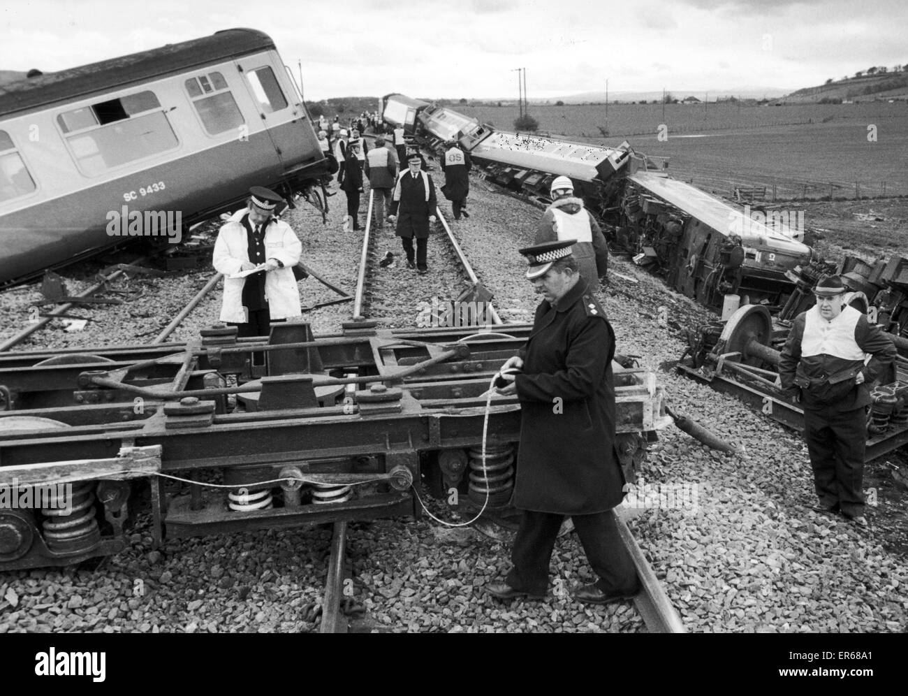 Railway Accident Black and White Stock Photos & Images - Alamy