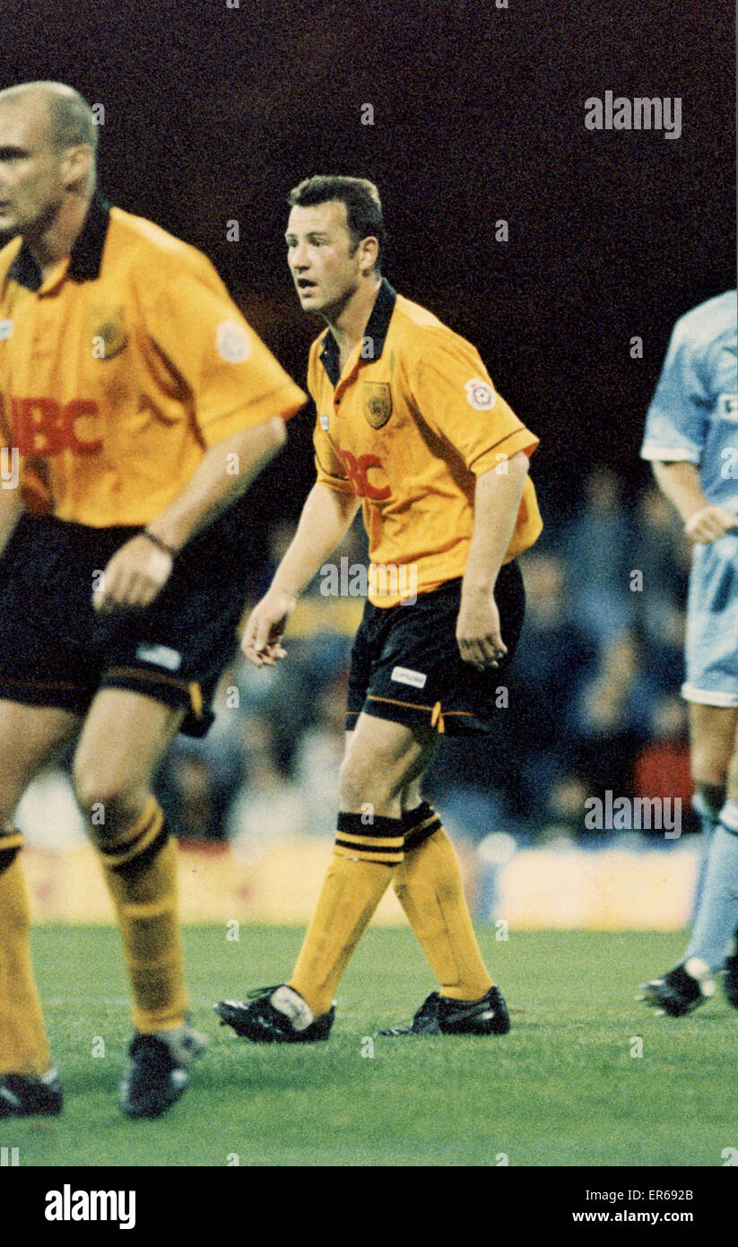 League Cup - Hull 0-1 Coventry. Greg Abbott pictured on Wednesday 4th October 1995. - Stock Image
