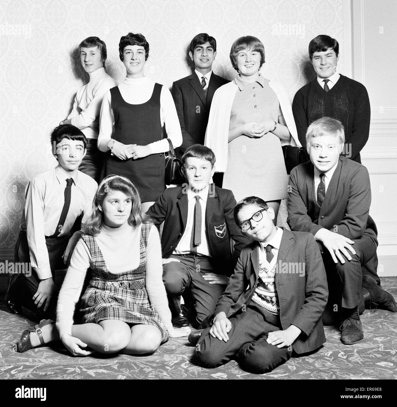 Daily Mirror Newspaper Boy or Girl of the Year Contest 1969