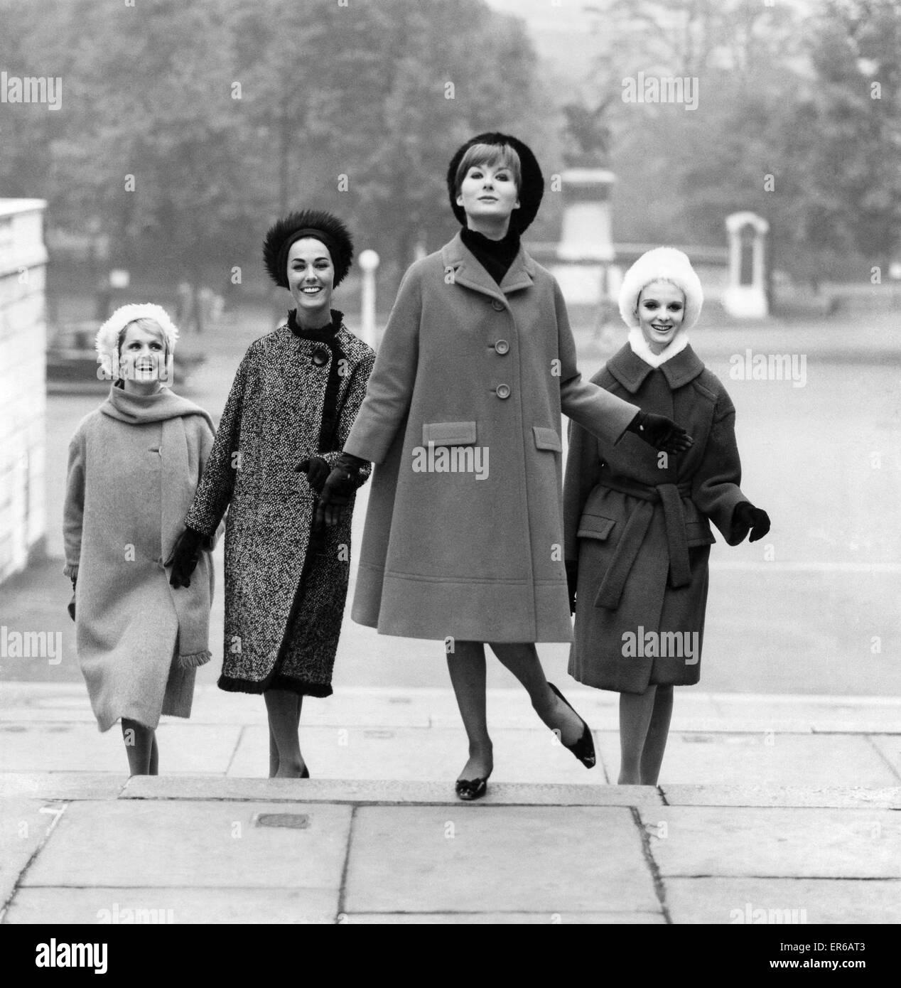 Clothing Fashion 1961. September 1961 P021504 Stock Photo - Alamy